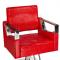 Fotel fryzjerski Roberto czerwony BM-203 #1
