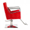 Fotel fryzjerski Roberto czerwony BM-203 #3