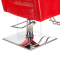 Fotel fryzjerski Roberto czerwony BM-203 #4