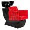 Myjnia fryzjerska Bruno czerwona BM-505 #1