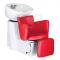 Myjnia fryzjerska LUIGI BR-3542 czerwona #1