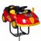 Dziecięcy fotel fryzjerski Autko BW-602 czerwony #2