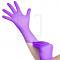 Jednorazowe Rękawiczki Fiolet Nitrylowe M #1