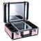 Kufer Kosmetyczny Glamour 9500k Różowy (Przenośne Stanowisko) #3