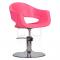 Fotel Fryzjerski Prato Róż #1