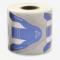 IBD Formy do paznokci Nail forms blue #1