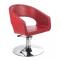 Fotel Fryzjerski Paolo BH-8821 Czerwony #1