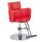 Fotel fryzjerski LUIGI BR-3927 czerwony #5