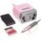 Frezarka Do Manicure JD700 Różowa + Zestaw Frezów #1