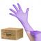 All4med Jednorazowe Rękawice Diagnostyczne Nitrylowe Fioletowe S 10 X100szt #1
