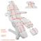 Fotel Do Pedicure Elektryczny A-207 C Pedi Biały (5 Silników) #8