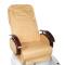 Fotel do pedicure z masażem BR-2307 Beżowy #5