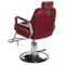 Fotel Barberski HOMER BH-31237 Czerwony #5