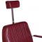 Fotel Barberski HOMER BH-31237 Czerwony #6