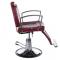 Fotel Barberski HOMER II BH-31275 Czerwony #6