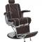 Fotel Fryzjerski Barber Borg Męski Brązowy W 48h #2