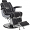 Fotel Fryzjerski Barber Borg Męski Brązowy W 48h #3