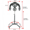 Gabbiano Infrazon Stojący GL-505S Srebrny #5