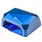 Lampa UV Led 24w + 12w CCFL Pro Timer + Sensor Blue #1