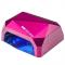 Lampa Diamond UV Led 24w + 12w CCFL Pro Timer + Sensor Pink #1