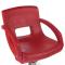 Fotel fryzjerski Nino BH-8805 czerwony #1