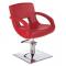 Fotel fryzjerski Nino BH-8805 czerwony #2