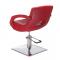 Fotel fryzjerski Nino BH-8805 czerwony #4