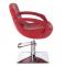 Fotel fryzjerski Nino BH-8805 czerwony #5