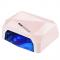 Lampa Diamond 2w1 UV LED+CCFL 36W Timer + Sensor Light Pink #1