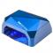 Lampa Diamond 2w1 UV LED+CCFL 36W Timer + Sensor Blue #1
