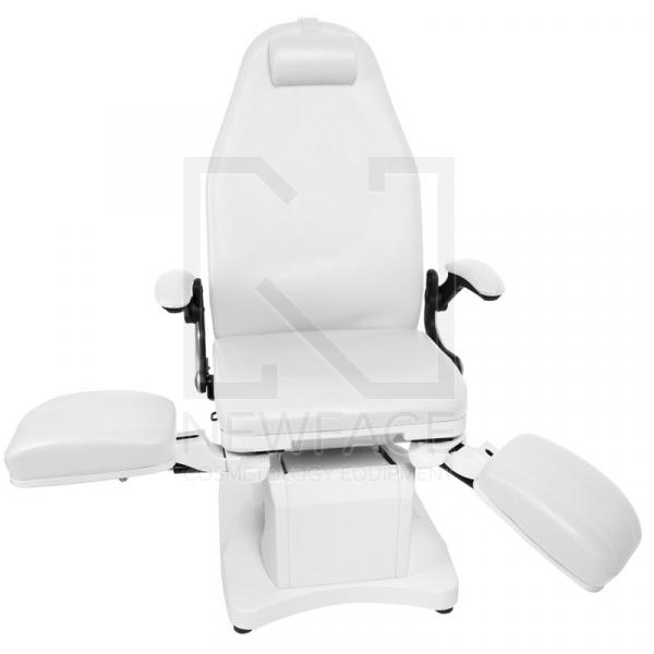 Fotel Podologiczny Elektryczny Azzurro 709A Biały #4