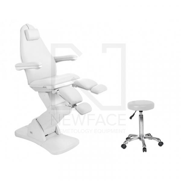 Fotel Do Pedicure Elektryczny 2244A Biały #1