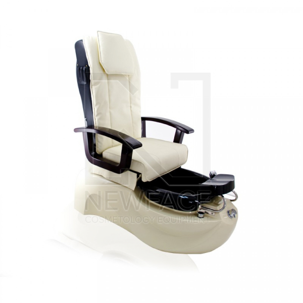 Fotel do pedicure Spa TS-1204 Ecru Z Funkcją Masażu #1