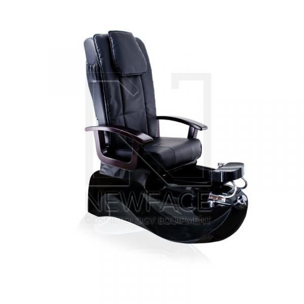 Fotel do pedicure Spa TS-1204 Czarny Z Funkcją Masażu #1