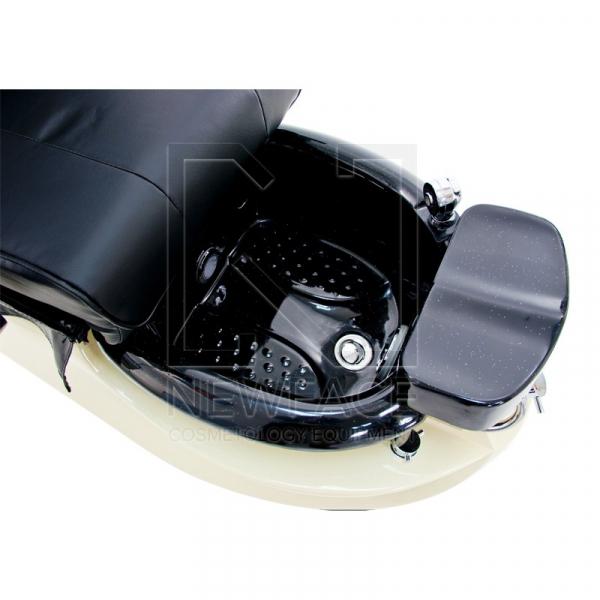 Fotel do pedicure Spa TS-1204 Czarny Z Funkcją Masażu #3