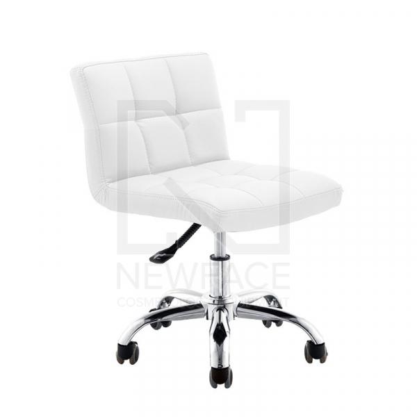 Krzesło Kosmetyczne A-5299 Białe #1
