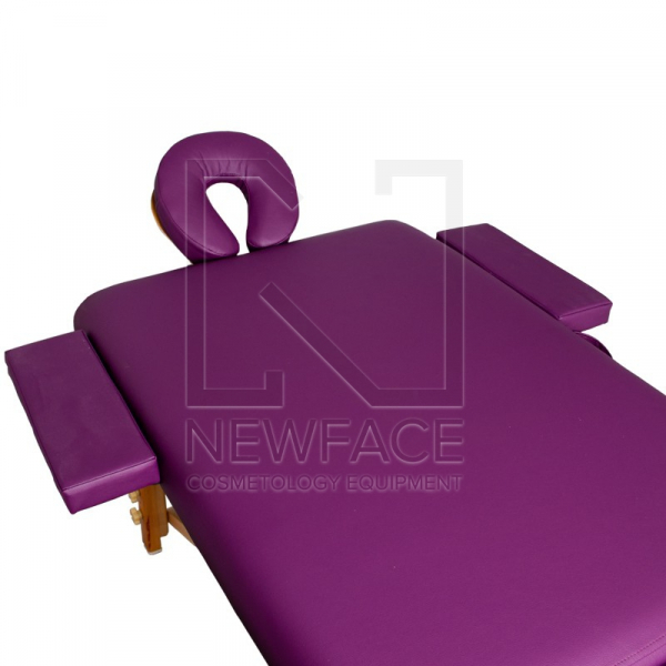 Stół Składany Do Masażu Komfort Wood At 006S-3 Purple #2