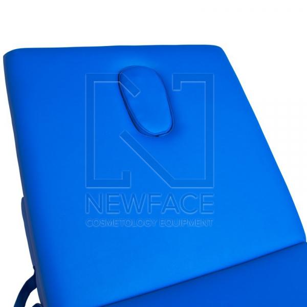 Stół Składany Do Masażu Komfort ALU-003 Blue #1