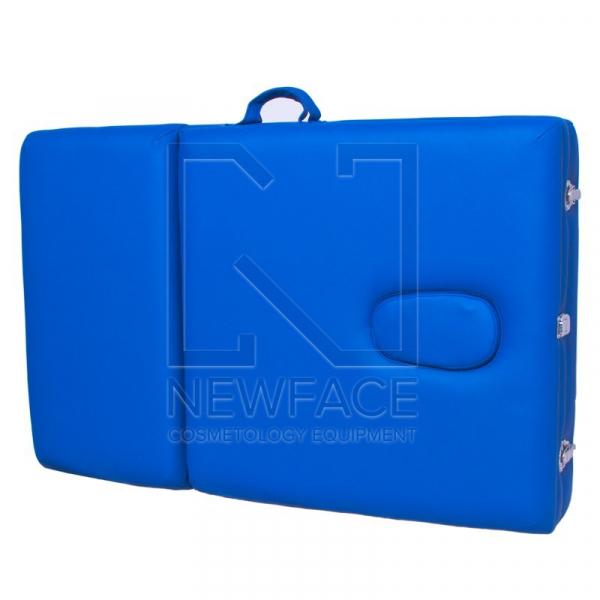 Stół Składany Do Masażu Komfort ALU-003 Blue #2