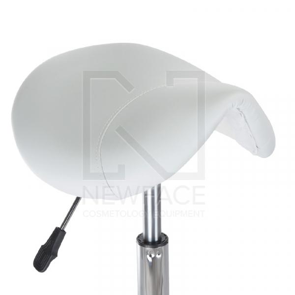 Taboret kosmetyczny BH-9232 biały #2