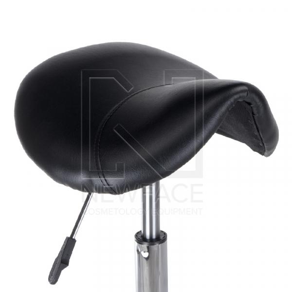 Taboret kosmetyczny BH-9232 czarny #2