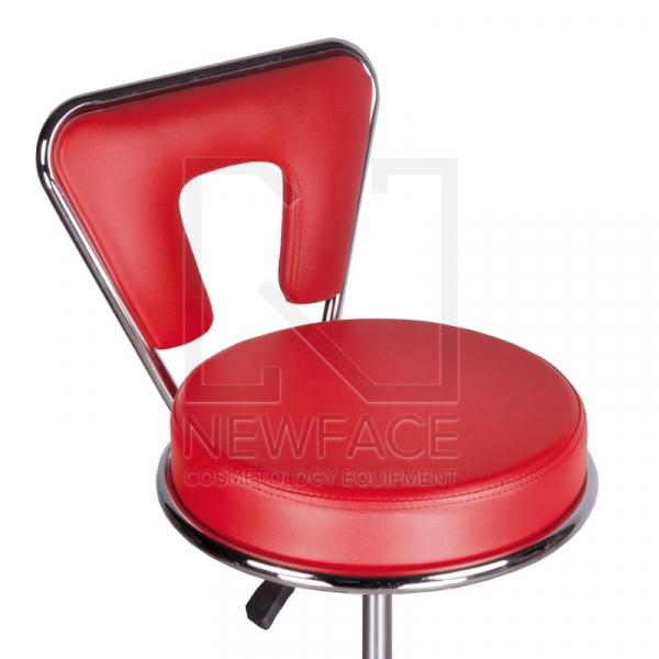 Taboret kosmetyczny BG-823 czerwony #2