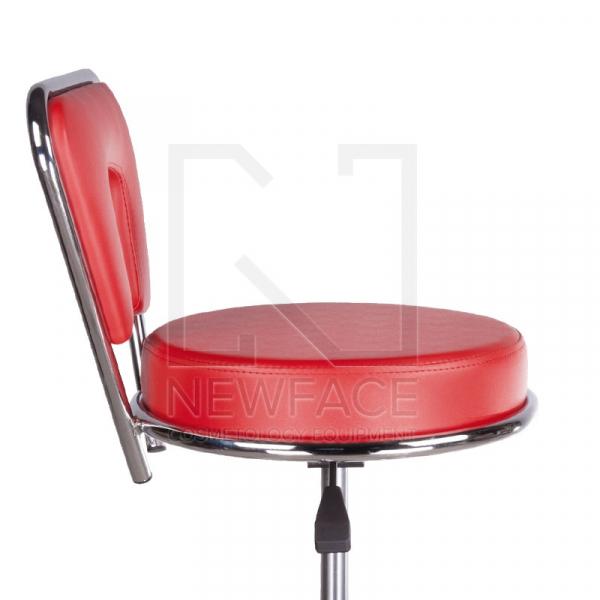 Taboret kosmetyczny BG-823 czerwony #4