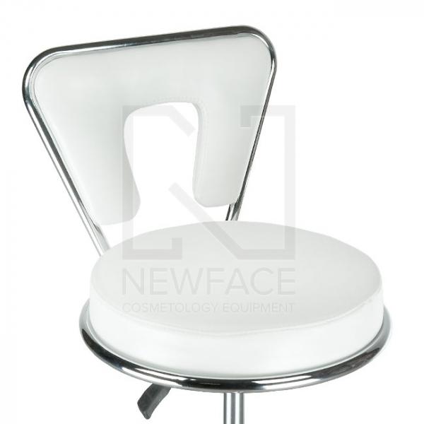 Taboret kosmetyczny BG-823 biały #3