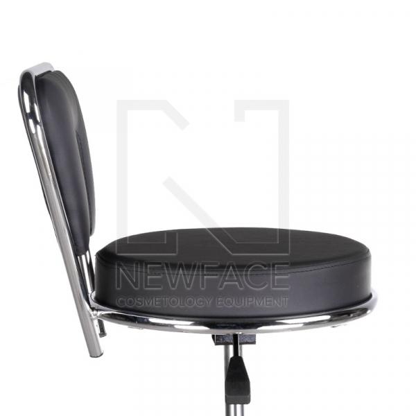 Taboret kosmetyczny BG-823 czarny #4