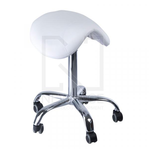 Taboret kosmetyczny BD-9909 Biały #1