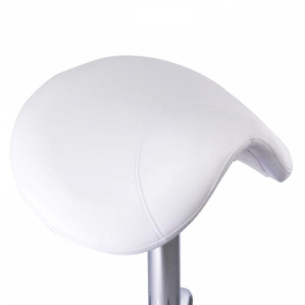 Taboret kosmetyczny BD-9909 Biały #2