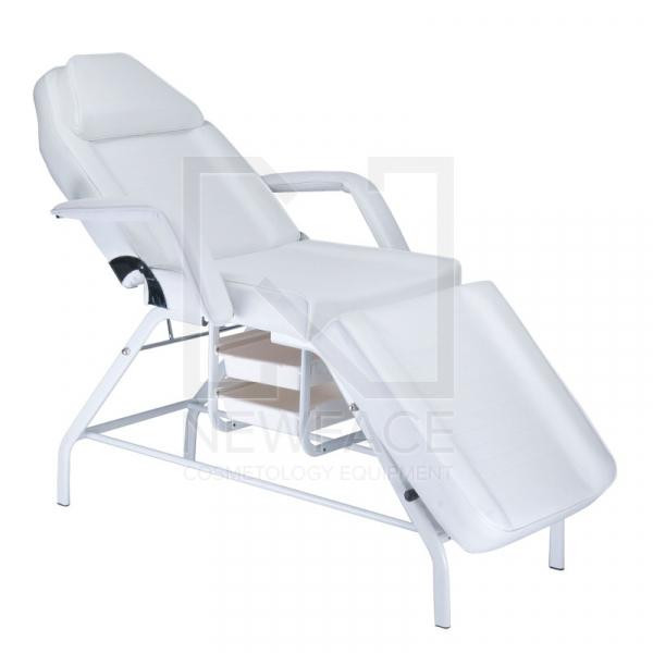 Fotel kosmetyczny z kuwetami BW-262 biały #1