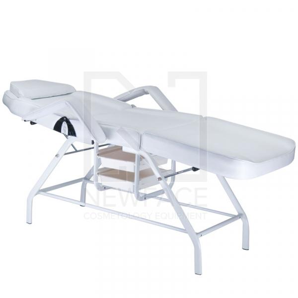Fotel kosmetyczny z kuwetami BW-262 biały #2