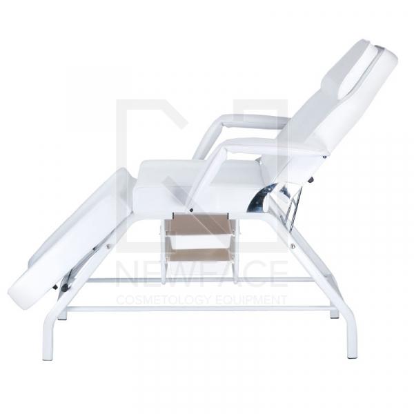 Fotel kosmetyczny z kuwetami BW-262 biały #7
